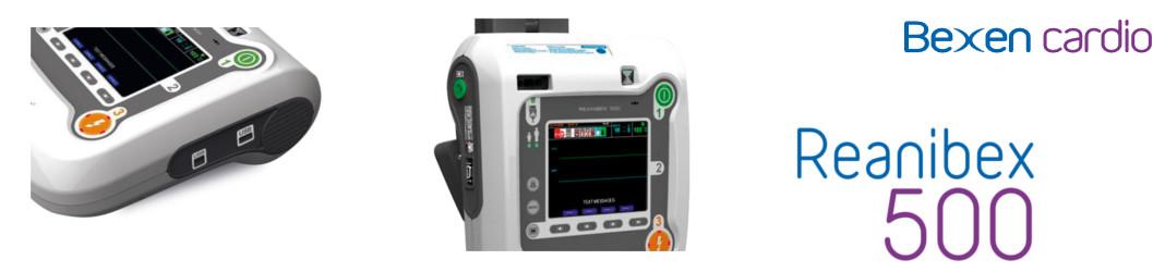 Monitor Defibrillatore Semiautomatico Reanibex 500
